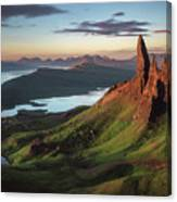 Scotland - Old Man Of Storr Canvas Print