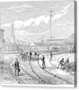 Scotland Train Crash Canvas Print