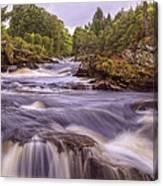 Scotland's Falls Of Dochart - Killin Scotland Canvas Print