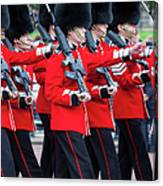 Scots Guards Canvas Print