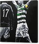Scott Brown - Celtic Fc Canvas Print