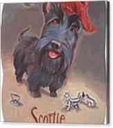 Scottie's Beaming Canvas Print