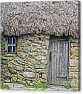 Scottish Farmhouse Canvas Print
