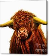 Scottish Highlander Canvas Print