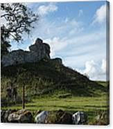 Scottish Castle Ruins Canvas Print