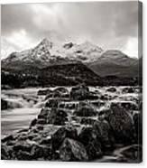 Scottish Skies Canvas Print