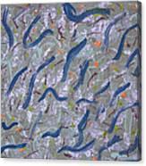 Scramble Canvas Print
