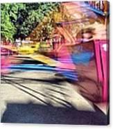 Scrambler Blur Canvas Print