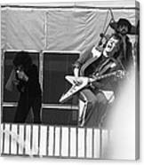 Screaming Guitsr Of J. Geils 1976 Canvas Print