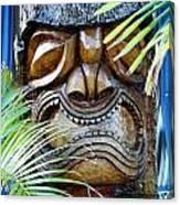 Screaming Tiki  Canvas Print