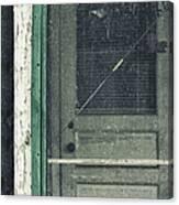 Screen Door Canvas Print