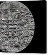 Screen Orb-06 Canvas Print