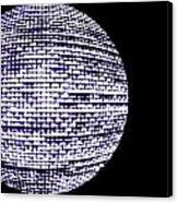 Screen Orb-15 Canvas Print