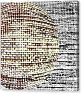 Screen Orb-29 Canvas Print