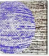 Screen Orb-30 Canvas Print