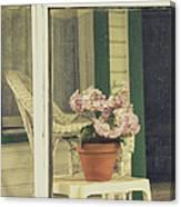 Screened Porch Canvas Print