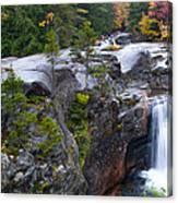 Screw Auger Falls Canvas Print