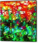 Scribble Thicket Canvas Print