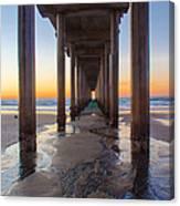 Scripps Pier #1 Canvas Print