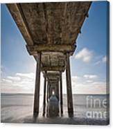 Scripps Pier Long Exposure Canvas Print