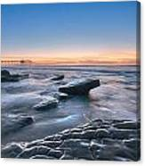 Scripps Pierr Low Tide Canvas Print