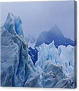 Sculpture In Blue Canvas Print