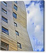 Sculpture Or Building Or Both 2 Canvas Print