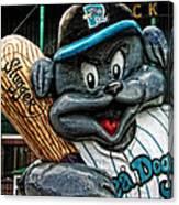 Sea Dogs Mascot Canvas Print