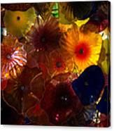 Sea Flowers And Mermaid Gardens Canvas Print