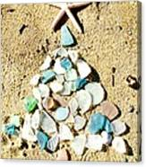 Sea Glass Tree Canvas Print