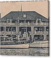 Sea Isle City Yacht Club  Canvas Print