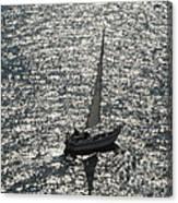 Sea Near Monaco Canvas Print
