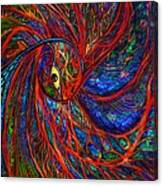 Sea Of Peacock Canvas Print