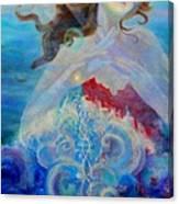 Sea Of The Soul Figure Detail Canvas Print