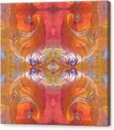Sea Shell Of A Yogi Canvas Print