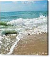 Seashore At Vero Beach Canvas Print