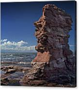 Sea Stack At North Cape On Prince Edward Island Canvas Print