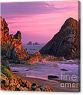 Sea Stacks Clearing Storm Harris State Beach Oregon Canvas Print