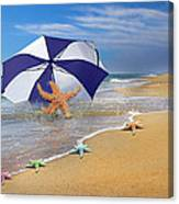 Sea Star Celebration  Canvas Print