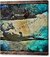 Sea Swept Love Canvas Print