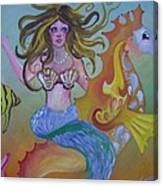 Sea Taxi Canvas Print