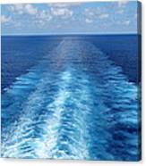 Sea Trails Canvas Print