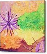 Sea Urchins - Abstract Canvas Print