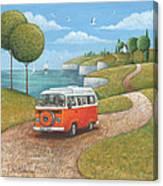 Sea Van Variant 1 Canvas Print