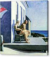 Sea Watchers Canvas Print