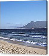 Sea With Table Mountain Canvas Print