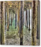 Seacliff Pier 2 Canvas Print