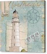 Seacoast Lighthouse II Canvas Print