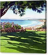 Seagrove Park Del Mar Canvas Print