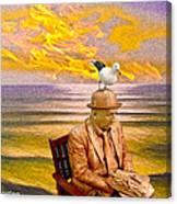 Seagull Man 6 Canvas Print